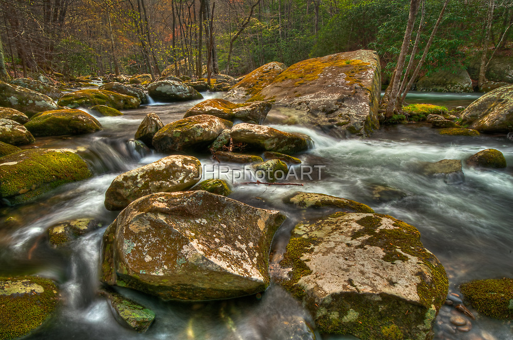 Little Pigeon River by JHRphotoART