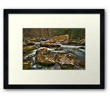 Little Pigeon River Framed Print