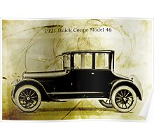 1921 Buick Coupe Poster