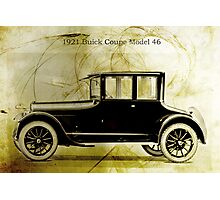 1921 Buick Coupe Photographic Print