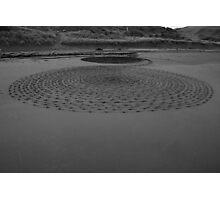 Black Sand 6 Photographic Print