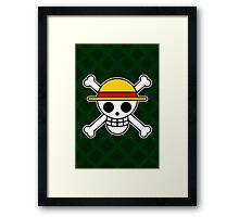 One Skull [2] Framed Print