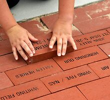 A Brick in the Memorial by Bill Gamblin