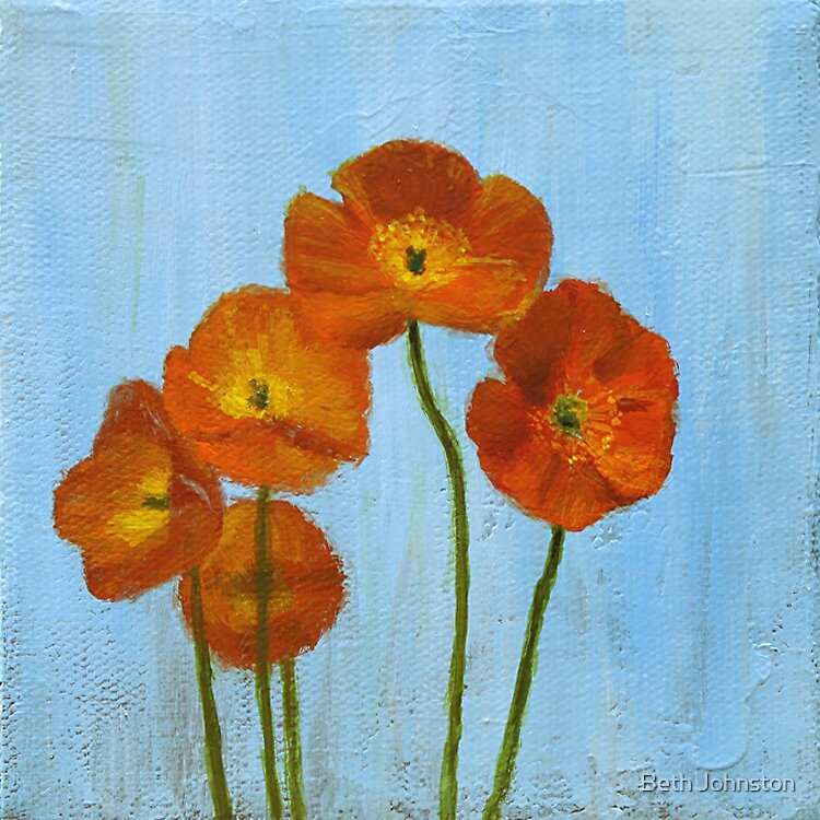 Poppies by Beth Johnston