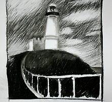 Byron Bay Light House by Narani Henson