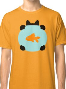 Fishbowl and a Cat Pattern Classic T-Shirt
