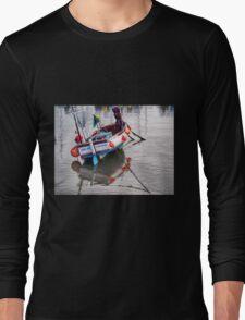 Lyme Regis Harbour - Impressions Long Sleeve T-Shirt