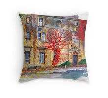 Le Vaux, France Throw Pillow