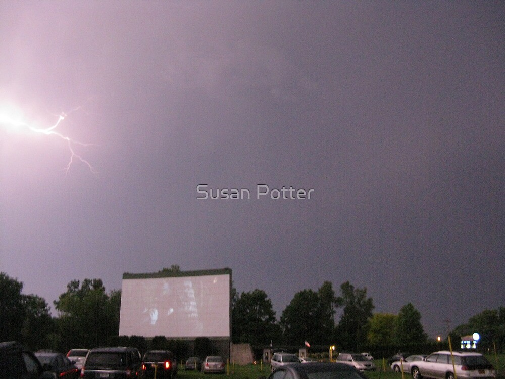 Natural Effects at the drive in by Susan Potter
