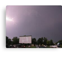 Natural Effects at the drive in Canvas Print