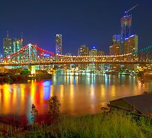 Story Bridge • Brisbane • Australia by William Bullimore