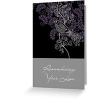 Remembering Your Loss Greeting Card