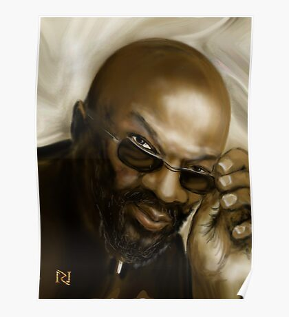 ISAAC HAYES A MUSIC LEGEND Poster