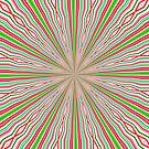 Coloured Lines by Margaret Stevens