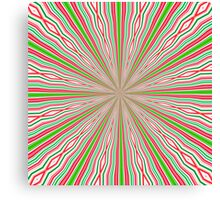 Coloured Lines Canvas Print