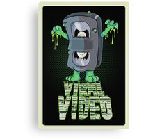 Viral Video (Green version) Canvas Print