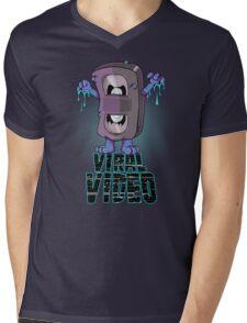 Viral Video (Blu version) Mens V-Neck T-Shirt