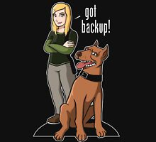 Veronica Mars got Backup Womens Fitted T-Shirt