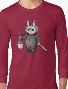 Little Masked Maniac (Monochrome version) Long Sleeve T-Shirt