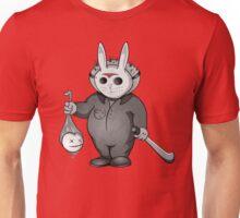 Little Masked Maniac (Monochrome version) Unisex T-Shirt