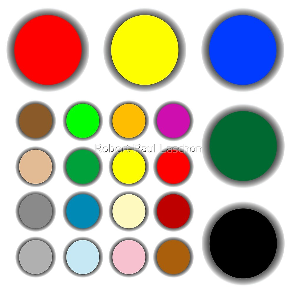 Colored web buttons by Laschon Robert Paul