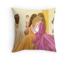 Palatial loves Throw Pillow