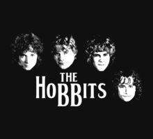 The Hobbits by Bizarro Tees
