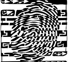 Fingerprint Scanner Maze by Yonatan Frimer