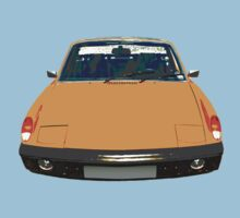 Porsche 914 Tangerine by supersnapper