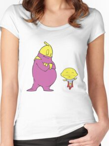 vegitable friend Women's Fitted Scoop T-Shirt