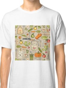 Retro kitchen. Classic T-Shirt