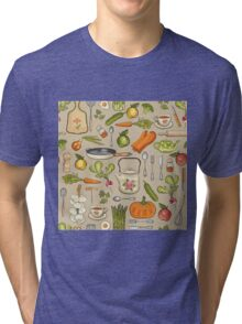 Retro kitchen. Tri-blend T-Shirt