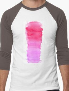 Girly pink Men's Baseball ¾ T-Shirt