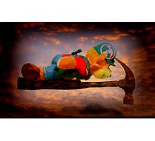 Planking Bill from Bunnings Photographic Print