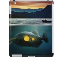 submarine fish iPad Case/Skin