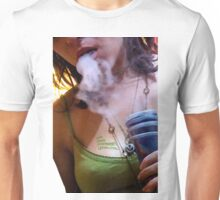 Herbal Tee vol. 1 - A lady and her pipe Unisex T-Shirt
