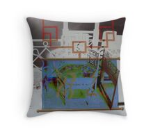 Chinese Room Throw Pillow