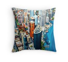 Above Brisbane Throw Pillow