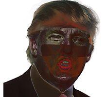 Bugged Donald Trump Photographic Print