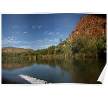 Cruising the Ord River is sheer delight Poster