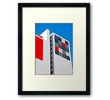 Funky Abode Framed Print