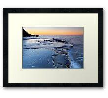 """""""The Shelf after Sunset"""" Framed Print"""