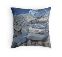 Moulded by Time Throw Pillow