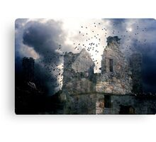 Warm Evidence of History. Canvas Print