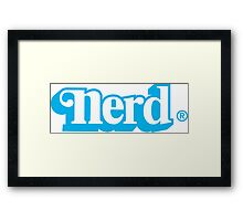 KenNerd! Framed Print