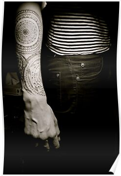 Spiritual Tattoo Arm by wendy Wood