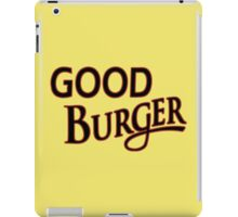 Good Burger shirt – Kenan & Kel, Nickelodeon iPad Case/Skin