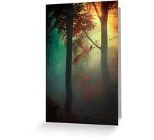 Waking Light Greeting Card