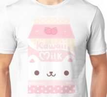 Kawaii milk box Unisex T-Shirt