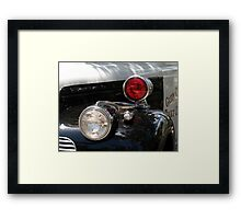 Watch for the Red Light Framed Print